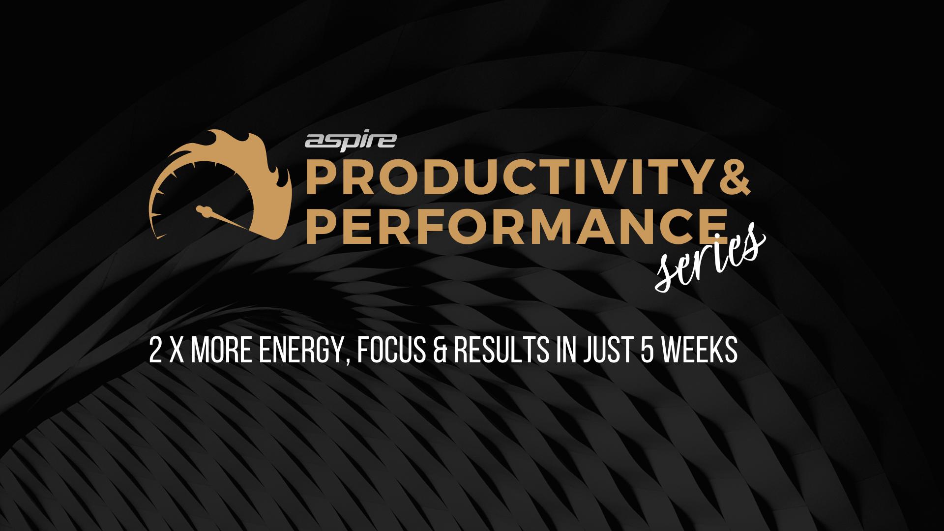 Performance Coach Productivity